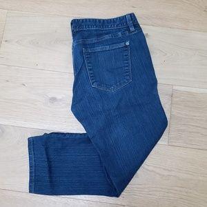👖 LOFT Modern Jeans Cropped Capris - size 6